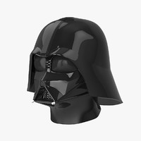 darth vader head 3d 3ds
