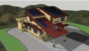 3d model house 2