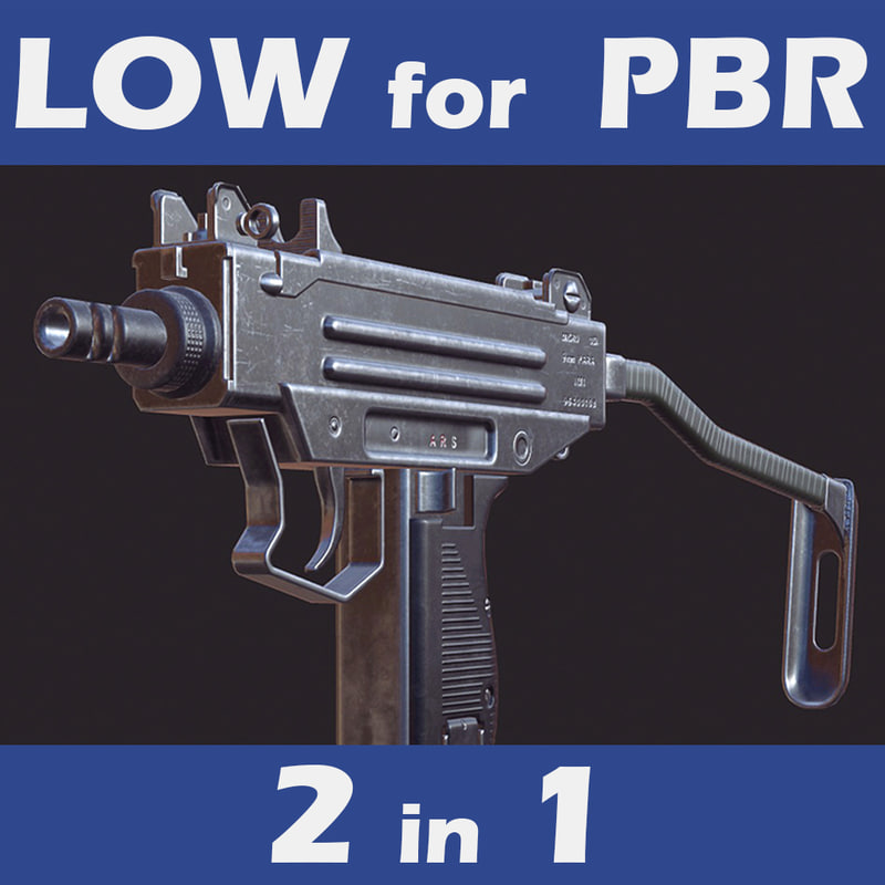 3d model engines pbr 4
