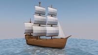 Ship - LowPoly