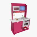 toy kitchen 3D models