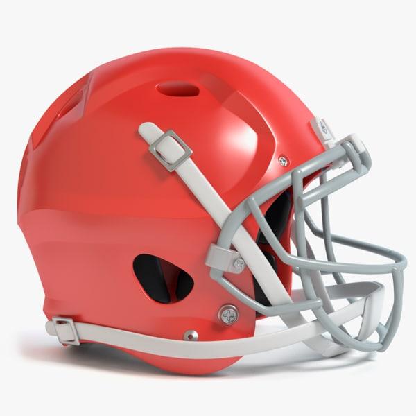 football helmet 3d 3ds