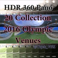 HDR Panos Olymipics 2016 Venues Collection