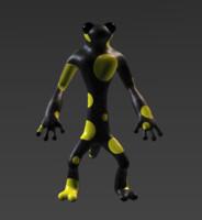 3d model textured animal