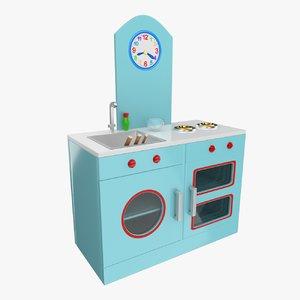 3ds toy kitchen