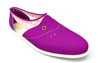 3d flat shoes model