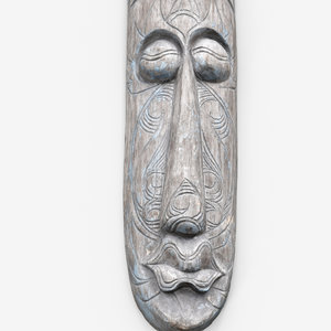 wooden mask decoration 3d max