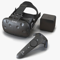htc vive set 2 3d 3ds