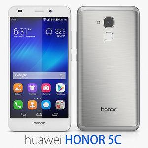 huawei honor 5c 3d model