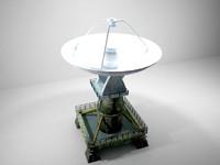 The old radar antenna