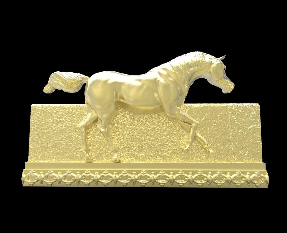 galloping horse 1 3d 3dm