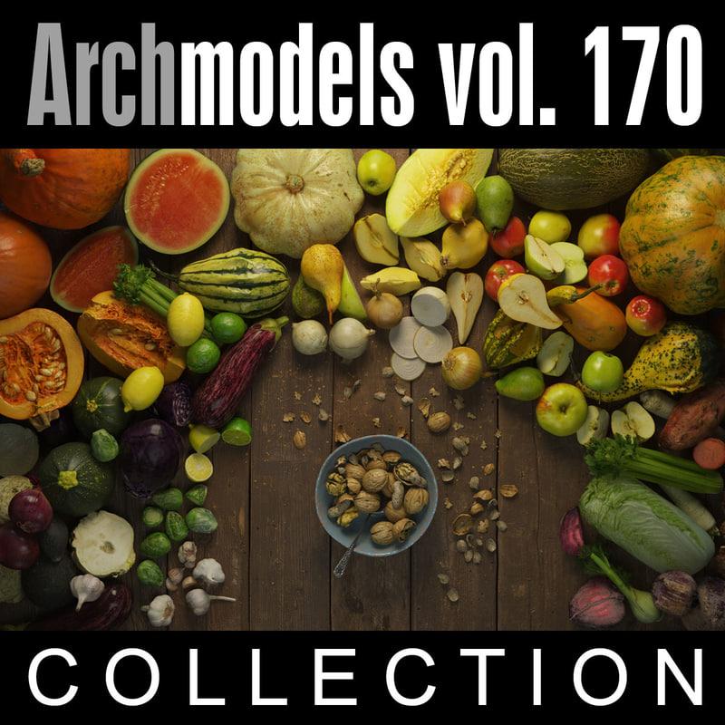 3d archmodels vol 170 model