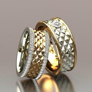 wedding ring 3d 3ds