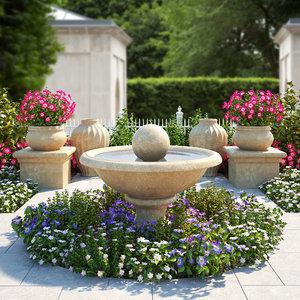 3d flower bed 2