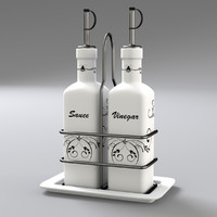 condiment bottle set 3ds