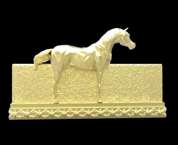 free obj mode galloping horse 8