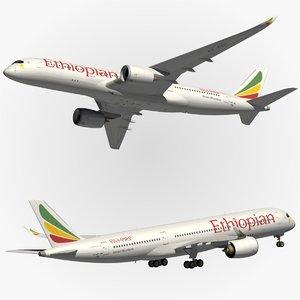 3d airbus ethiopian