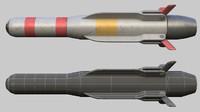 missile 3d max