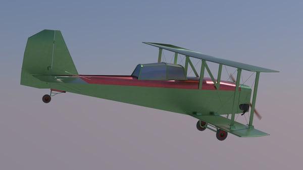 3ds plane airplane