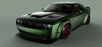Dodge Challenger SRT Hellcat Liberty Walk