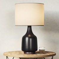 3d morten table lamp model