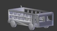 3d blend bus