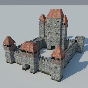 3d castle