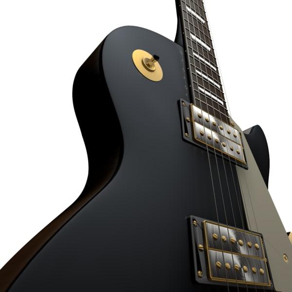 3ds guitarra les paul gibson