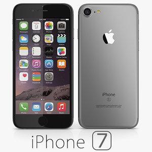 apple iphone 7 leaked 3d model