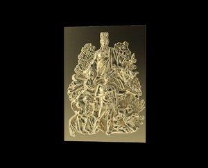 3d obj triumphal arch bas-relief 3
