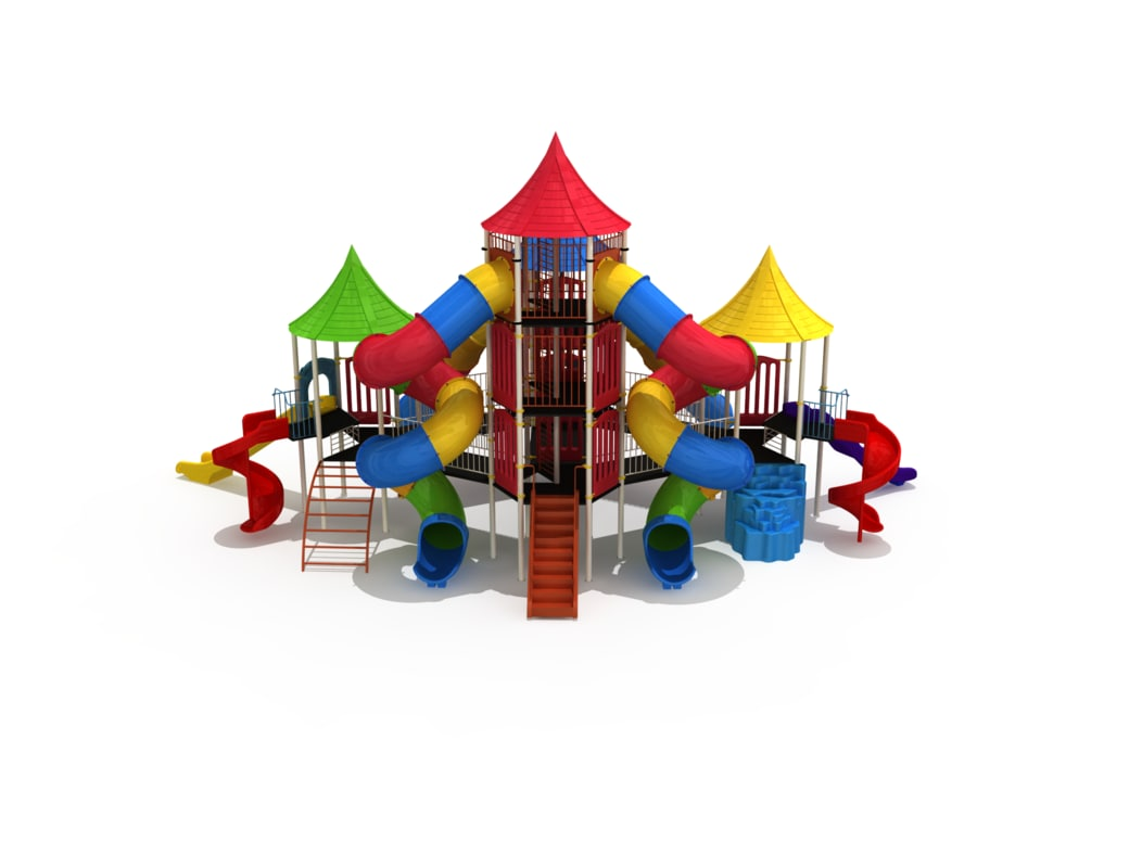 3d model play ground big
