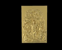 triumphal arch bas-relief 2 3d model