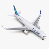 3d boeing 767-300f condor flugdienst