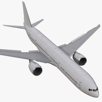 boeing 777-8x generic rigged 3d model