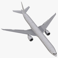 3d boeing 777 9x generic model