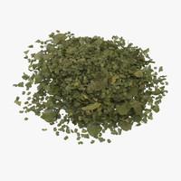 3d chopped dried parsley