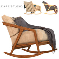Dare Studio Katakana rocking chair
