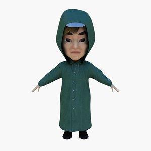man raincoat rain max
