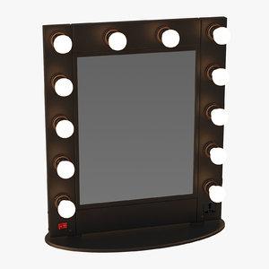 makeup mirror 02 3d model