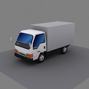 isuzu goods 3d max