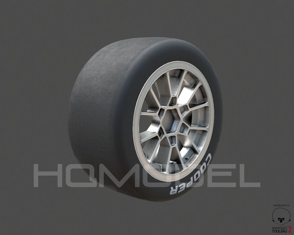 indy light tire rim 3d max