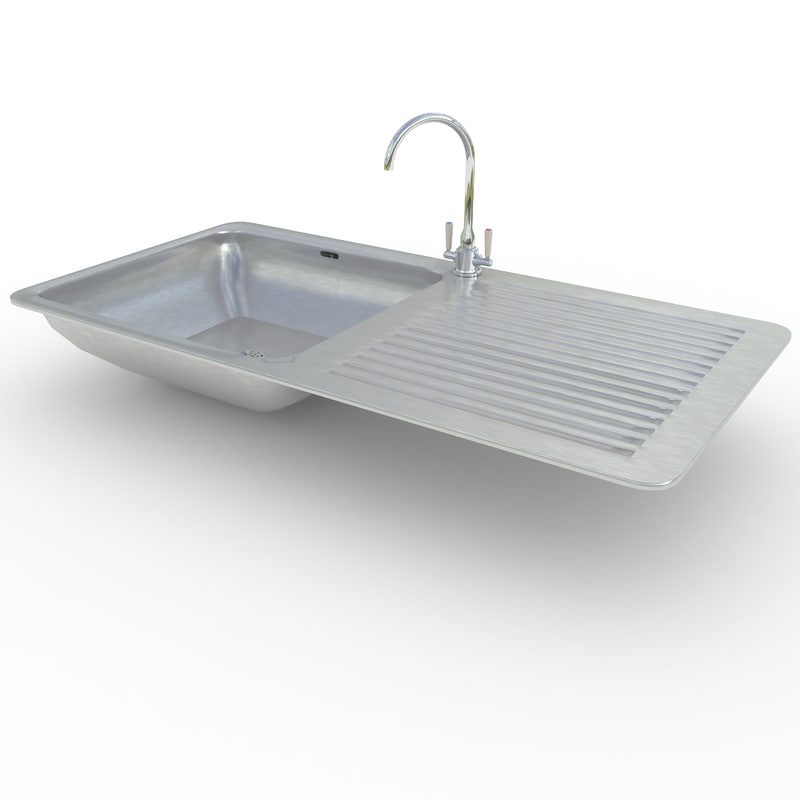Kitchen Sink Model: 3d Kitchen Sink Model