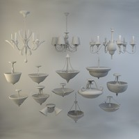 obj 15 ceiling lights