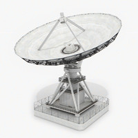 vla radio telescope 3ds