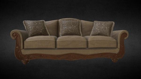 3d model sofa martinsburg