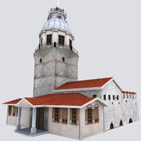 3d maiden s tower