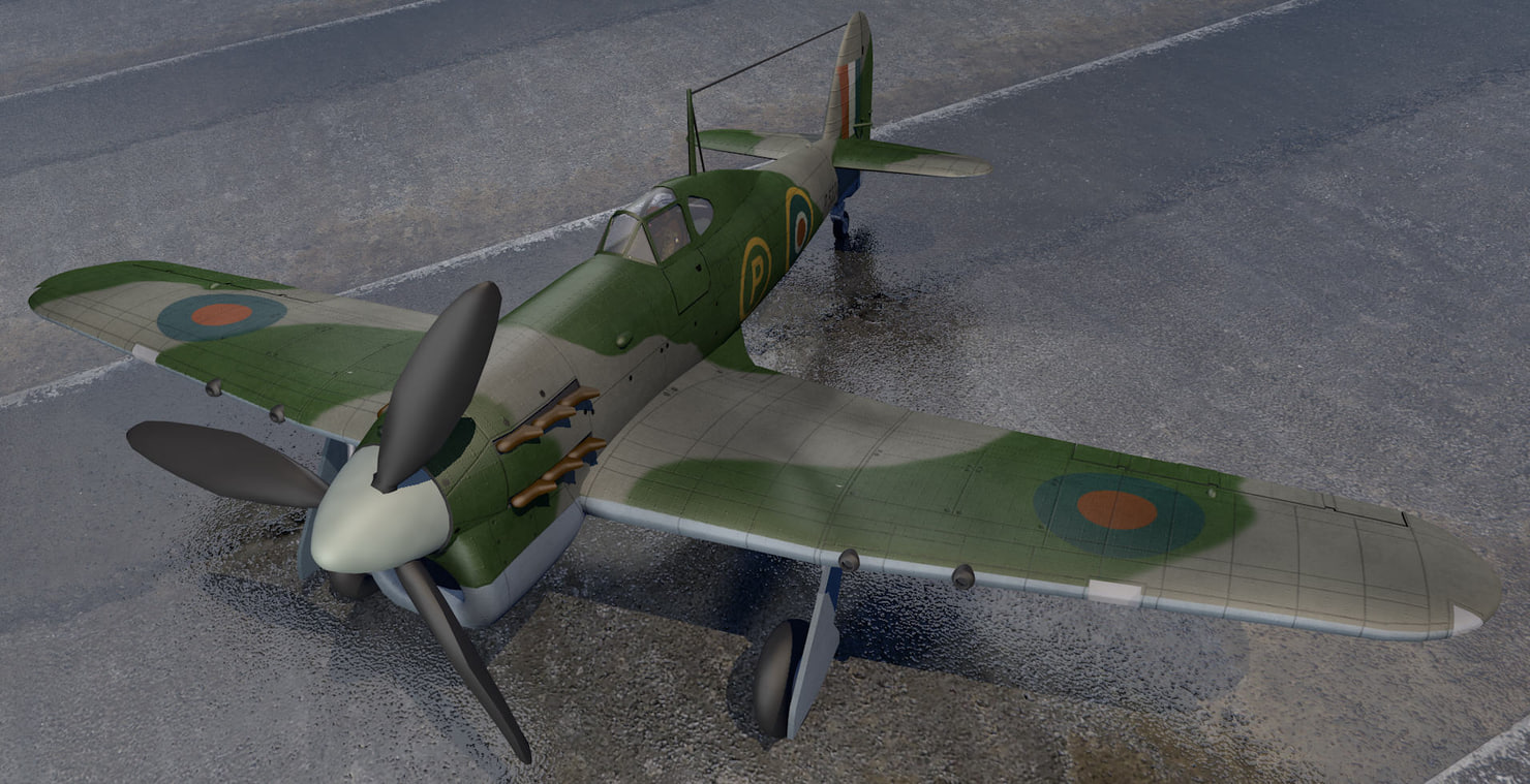 3ds hawker tornado mk-1 fighter aircraft