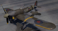 3d hawker typhoon mk-1b early