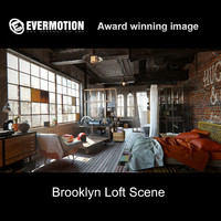 3d model nyc brooklyn loft