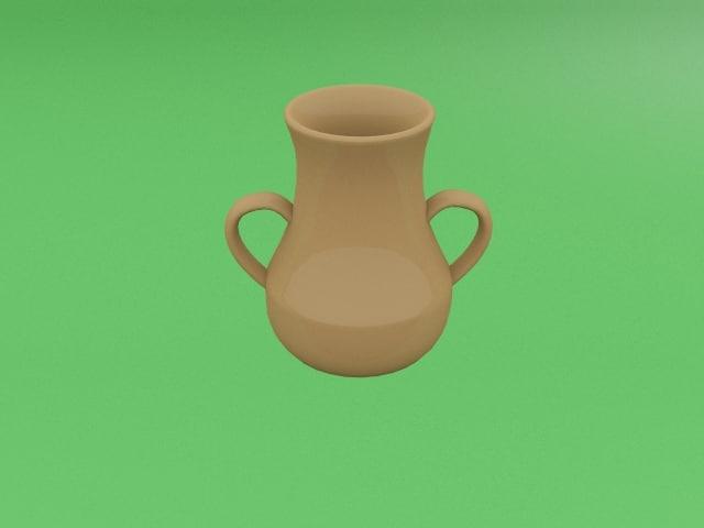 3d model jug handles